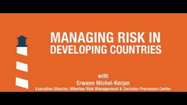 Embedded thumbnail for Are poor people in developing countries too risk averse to become rich?
